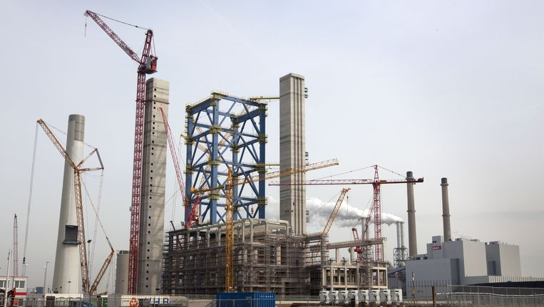 Een kolencentrale op de Maasvlakte. Beeld ANP XTRA