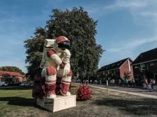 Het corso is kunst, bewijzen dahliacreaties in Lichtenvoorde