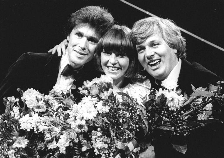 Bart van de Laar (links) in 1981. Beeld anp
