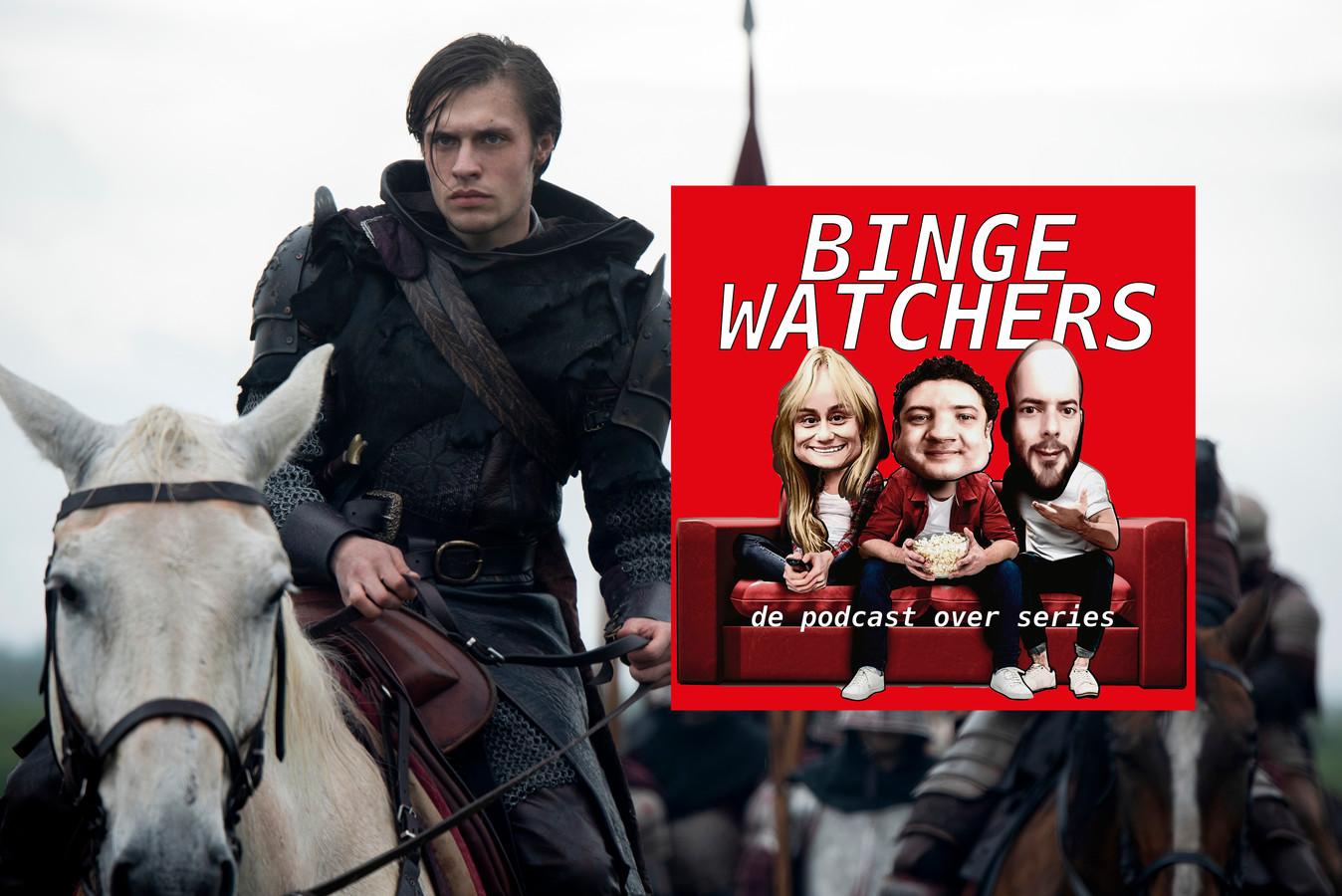 Gijs Blom in de nieuwe serie The Letter for the King op Netflix