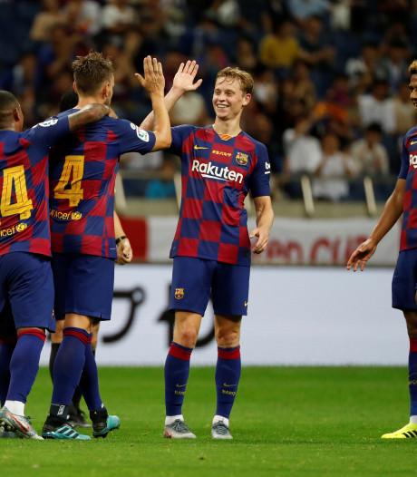 Frenkie de Jong debuteert bij Barcelona met nederlaag