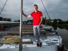 Belgische schipper kan Deventer haven niet uit: 'Ik lig hier. Dat is niet plezant'