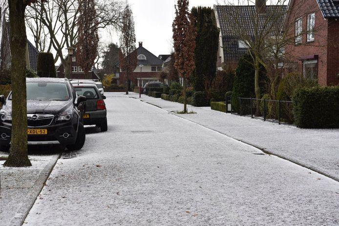 In Vriezenveen was het zaterdagmiddag even écht winter