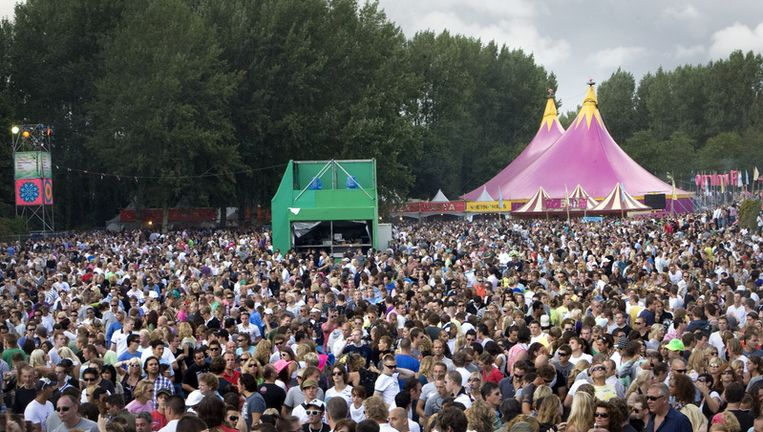 Sinds 2003 heeft het populaire dance-evenement elk jaar eind augustus plaats op het voormalig Floriadeterrein. Foto ANP Beeld
