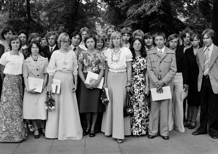 Klassenfoto, 1978, DDR. Foto Werner Mahler. Beeld Ute & Werner Mahler /OSTKREUZ