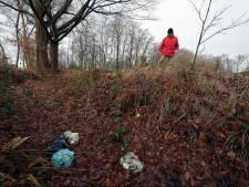 Afval in de natuur: 'Bij de Zanderijen trof ik twee televisies aan'