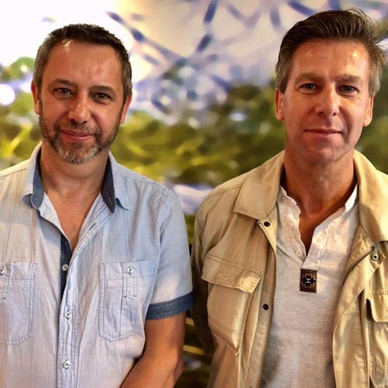 Patrick (links) en Ludwig van Tielen. Beeld null