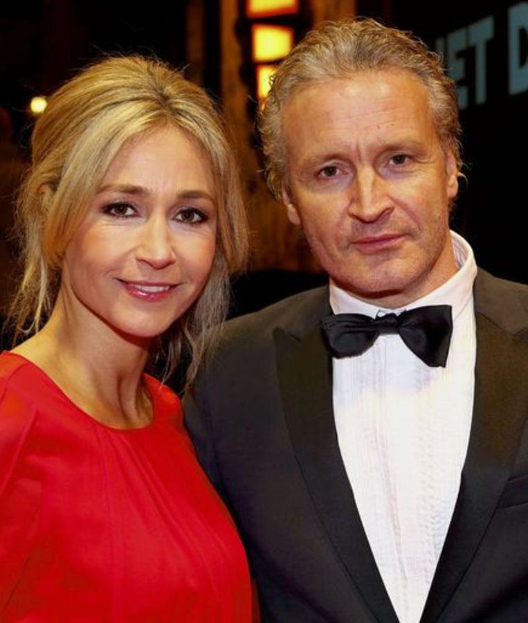 Erland Galjaard heeft een relatie met RTL4-presentatrice Wendy van Dijk Beeld anp