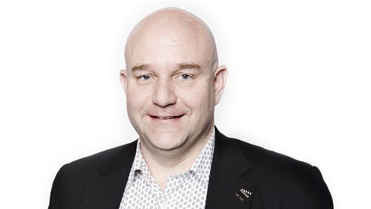 Jan Hoek in 2010, toen hij gemeenteraadslid was voor GroenLinks. Beeld Jan van Breda