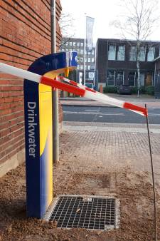 Station in Almelo opent watertappunt