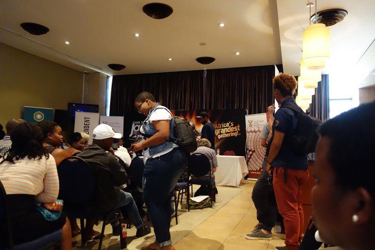Met debatten en master classes wil het Cape Town Jazz Festival, slogan 'Africa's grandest gathering!', meer zijn dan een jazzfeest voor de rijkeren. Beeld wb
