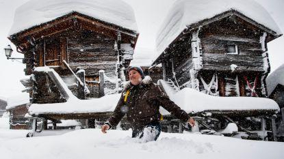"""Noodweer in de Alpen dit weekend: """"Tot 1 meter sneeuw en meer"""""""