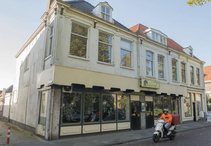 Het voormalige wokrestaurant aan het Kerkplein.