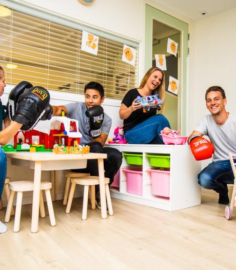 Een kinderdagverblijf, boksschool én ict-bedrijf runnen: deze familie doet het gewoon!
