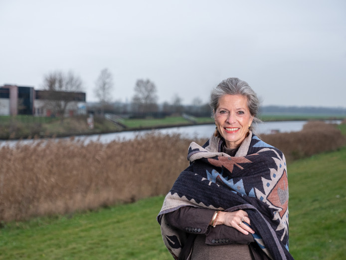 Dijkgraaf Tanja Klip-Martin is blij met de hoge opkomst.