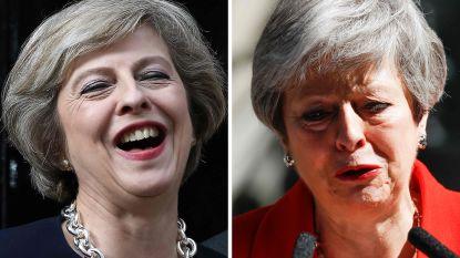 Theresa May gaat geschiedenis in als slechtste Britse premier ooit: daar gaat zelfs een robot van huilen