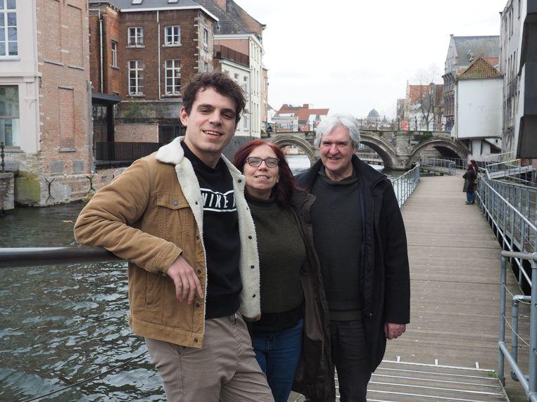 Wanne Synnave, Tinne De Groot en Ronny Plovie.