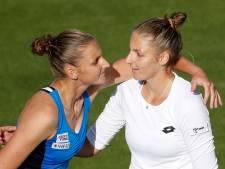 Kristyna klopt Karolina Pliskova in 'tweelingthriller'
