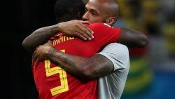 """Bondscoach en spelers bejubelden Thierry Henry tijdens zijn periode bij Rode Duivels: """"Beste wat me is overkomen"""""""