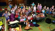 Vrijetijdsdienst geeft slaapfeestje in basisschool De Klim