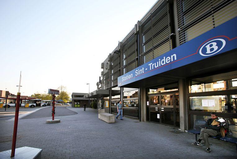Het station van Sint-Truiden.