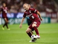 Iniesta maakt opnieuw fraaie goal in Japan