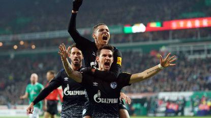 Raman matchwinnaar bij Schalke, einde doelpuntenreeks Lewandowski na overwinning Bayern