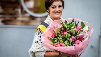 Carole Himpens (sp.a) zwaait schepencollege uit