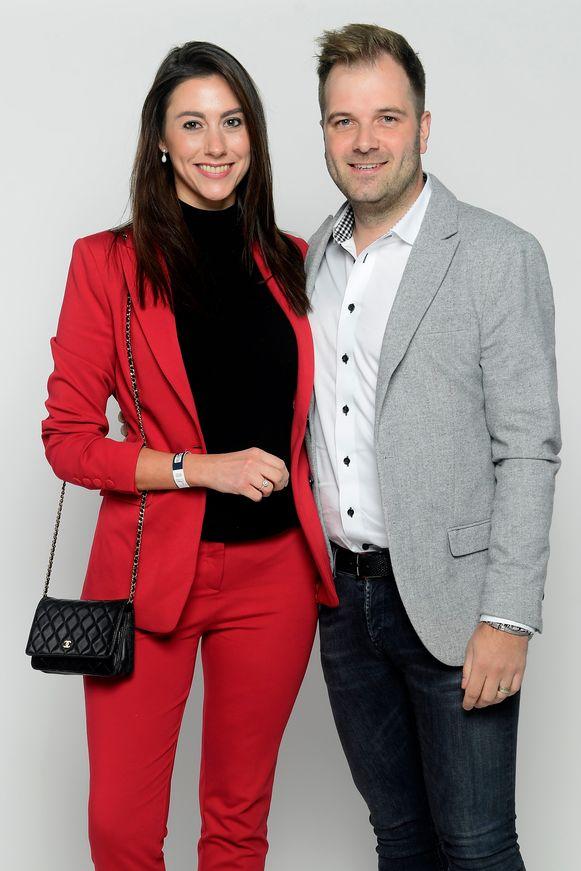 Niels Albert en partner Valeska Van Den Broecke