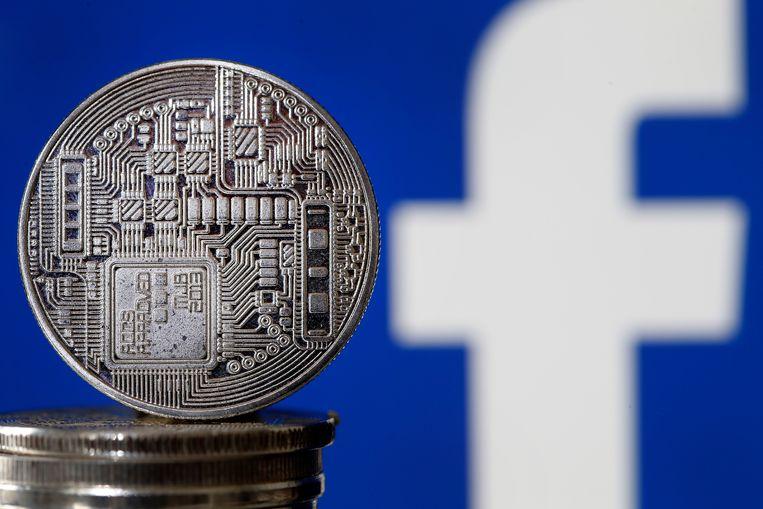 Een artist's impression van de Libra, de munt van Facebook. Beeld Getty Images
