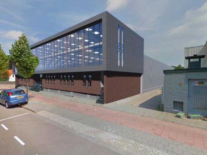 Impressie van de nieuwbouw van Dolfijn Bowling aan de Ringbaan Oost in Tilburg.