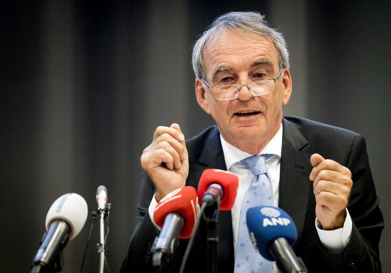 Pieter van Geel, oud-staatssecretaris CDA, werd later lobbyist voor de frisdranksector. Beeld ANP