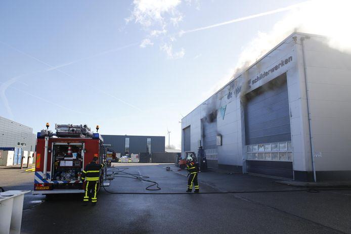 Brand in Oosterhout