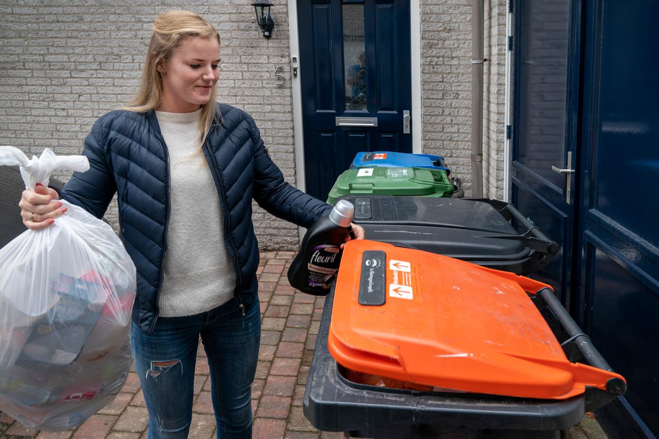 De vierde bak voor onder meer plastic wordt in Den Bosch niet verplicht.