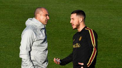 """Bondscoach Martínez verwacht niet dat Hazard nog in actie komt voor Real: """"Eden zal minstens twee maanden out zijn"""""""