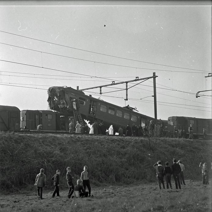 Treinongeluk in Geldrop in 1961