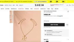 Webshop Shein slaat de bal mis met swastika ketting