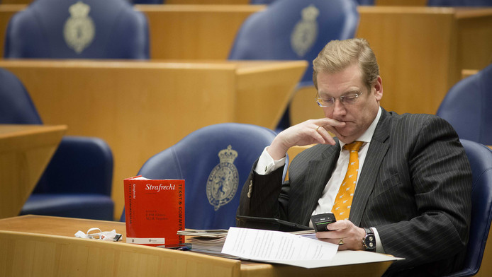 VVD-Kamerlid Ard van der Steur wordt de nieuwe minister van Veiligheid en Justitie