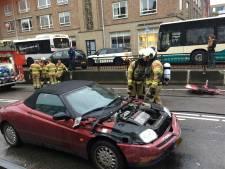 Roy (18) redt man uit brandende auto: 'Hij rilde en was in shock'