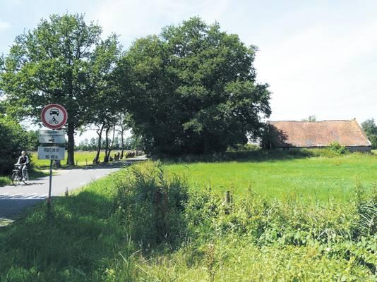 Het gebied Melksteeg bij de Peter van der Breemerweg.