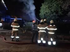 Uitslaande schuurbrand in Erp