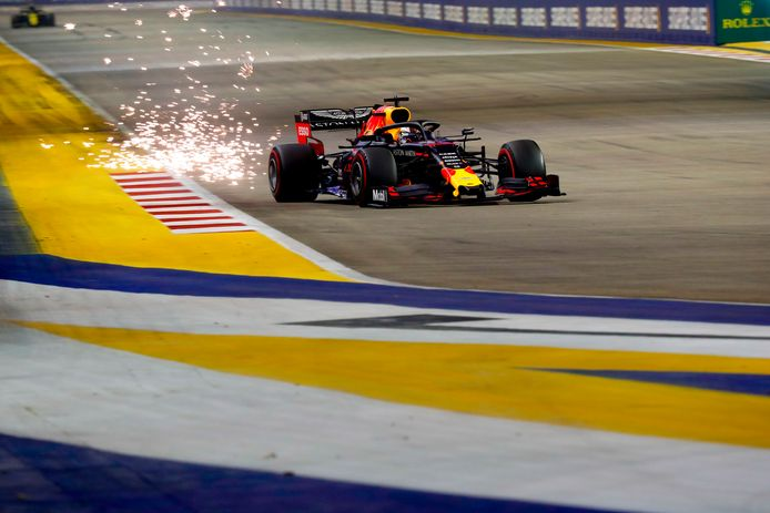 Max Verstappen in Singapore