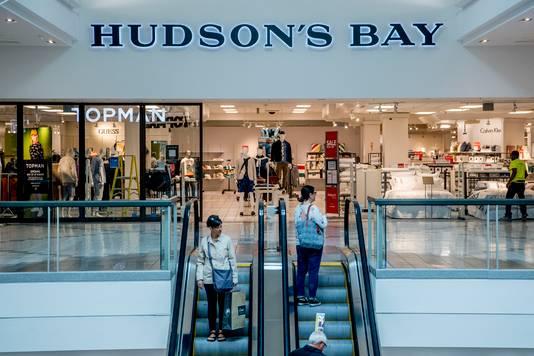 Hudson's Bay heeft moeite om klanten naar de winkel te lokken.