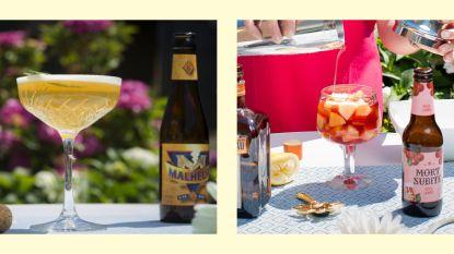 Vier International Beer Day met deze 5 biercocktails die naar de zomer proeven