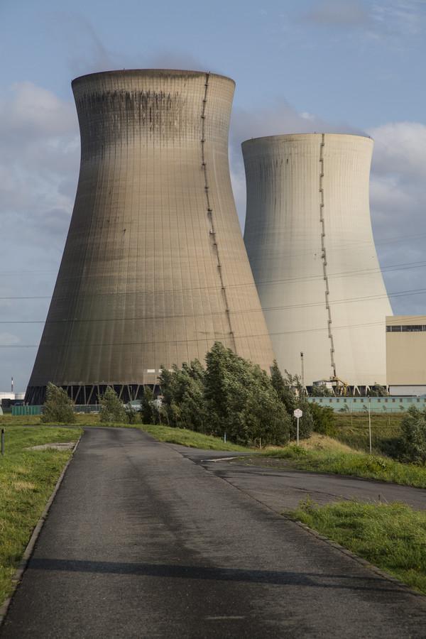 De kerncentrale van Doel ligt gedeeltelijk stil.