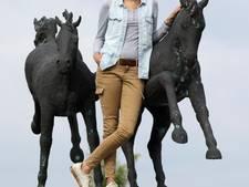 Paardenmeisje uit Nunspeet dartelt dankzij revolutionaire hartklep van koe