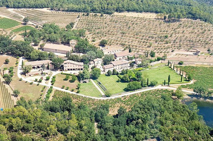 Brand en Angelina trouwden op 23 augustus 2014 in hun chateau in Zuid-Frankrijk.