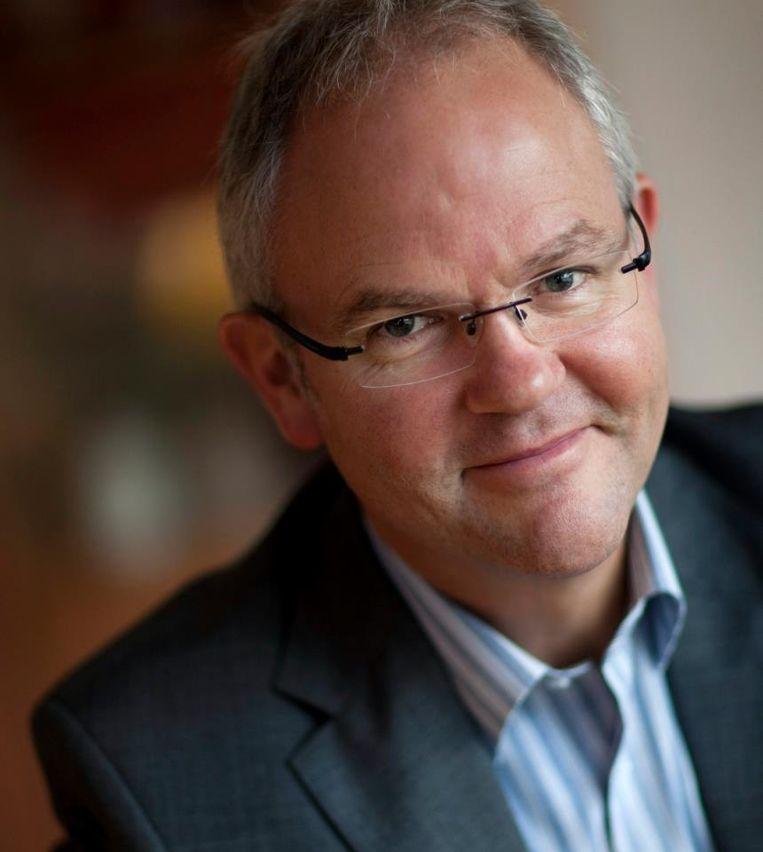 Jan Fasen is directievoorzitter Mundium College in Roermond en bedenker van Agora. Beeld .
