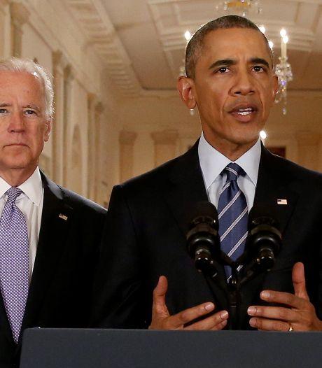 Biden et Obama en campagne ensemble pour la première fois