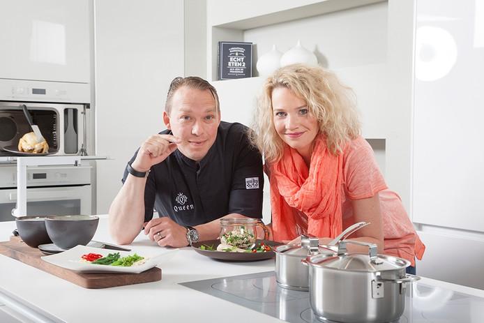 Björn Otten en voedingsdeskundige Nanna Zevenbergen.